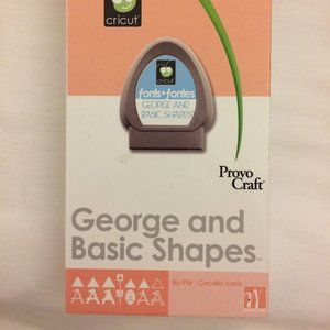Cricut ~ George and Basic Shapes ~  #29-0025